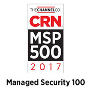 CRN Managed Services Provider 500 - Managed Security 100