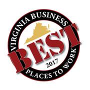 Virginia Business Best Places to Work in Virginia