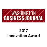 Washington Business Journal 2017 Innovation Award