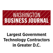 Washington Business Journal Largest Government Technology Contractors in Greater DC