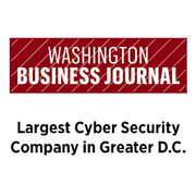 Washington Business Journal - Largest Cyber Security Company in Greater D.C.