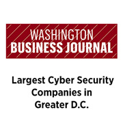 WBJ Largest Cyber Security Companies in Greater DC